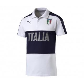Polo Casual Italie Blanc/Marine