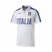 Polo Fan Italie Blanc