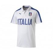 Polo Fan Italie Blanc