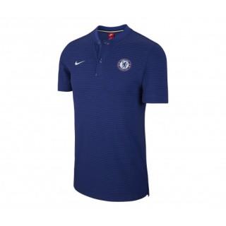Polo Nike Chelsea Bleu