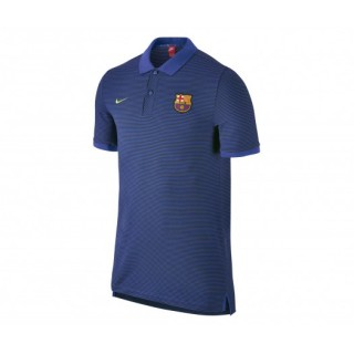 Polo Slim Authentic Nike FC Barcelone Bleu