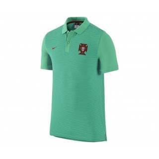 Polo Slim Authentic Nike Portugal Vert