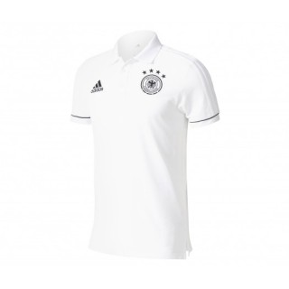 Polo adidas Allemagne Blanc