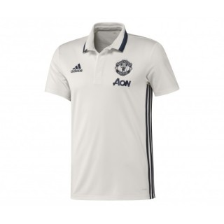 Polo adidas Manchester United Blanc