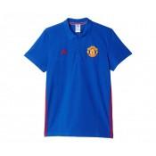 Polo adidas Manchester United Bleu
