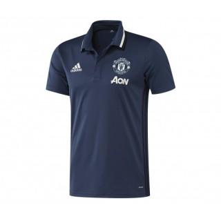 Polo adidas Manchester United Bleu Enfant