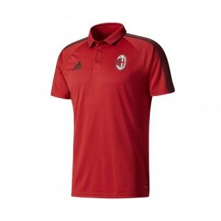 Polo adidas Milan AC Rouge