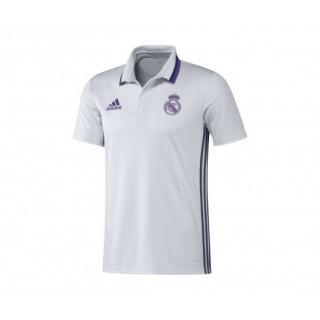 Polo adidas Real Madrid Blanc