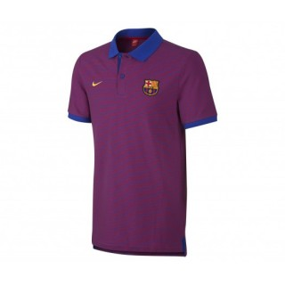 Polo slim Nike Authentic FC Barcelone Violet