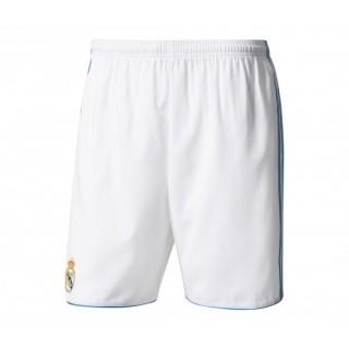 Short Authentique adidas Real Madrid Domicile 2017/18 Blanc