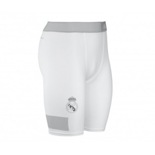 Short Techfit Cool Real Madrid Blanc/Argent