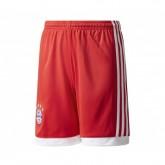 Short adidas Bayern Munich Domicile 2017/18 Rouge Enfant