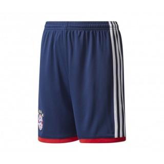 Short adidas Bayern Munich Extérieur 2017/18 Bleu Enfant