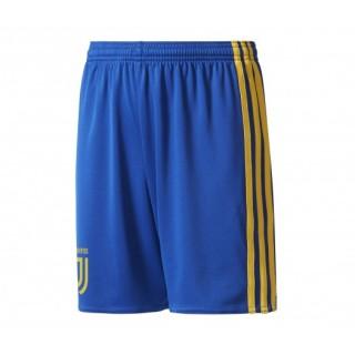 Short adidas Juventus Extérieur 2017/18 Bleu Enfant