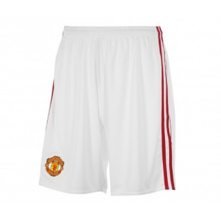 Short adidas Manchester United Domicile 2016/17 Blanc