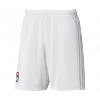Short adidas Olympique Lyonnais Domicile 2017/18 Blanc Enfant