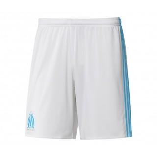 Short adidas Olympique de Marseille Domicile 2017/18 Blanc Enfant