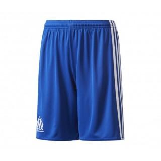 Short adidas Olympique de Marseille Extérieur 2017/18 Bleu Enfant