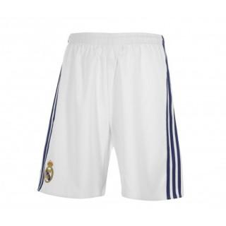 Short adidas Real Madrid Domicile 2016/17 Blanc Enfant