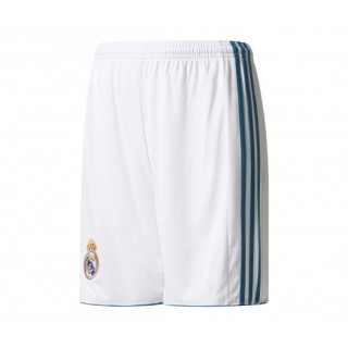 Short adidas Real Madrid Domicile 2017/18 Blanc Enfant