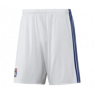 Short adidas de l'Olympique Lyonnais Domicile saison 2016/17 Blanc