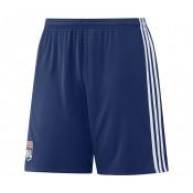 Short adidas de l'Olympique Lyonnais Domicile saison 2016/17 Bleu Enfant