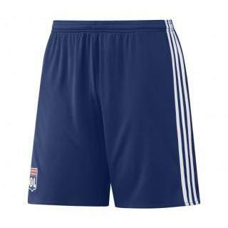 Short adidas de l'Olympique Lyonnais Extérieur saison 2016/17 Bleu