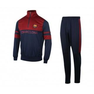 Survêtement FC Barcelone Bleu et Rouge Enfant