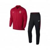 Survêtement Nike AS Monaco Squad Rouge et Noir