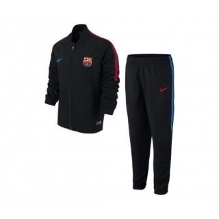 Survêtement Nike FC Barcelone Squad Noir Enfant