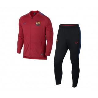 Survêtement Nike FC Barcelone Squad Noir et Rouge