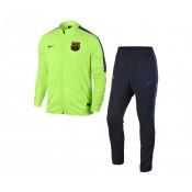 Survêtement Nike FC Barcelone Vert et Bleu