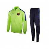 Survêtement Nike FC Barcelone Woven Vert et Bleu