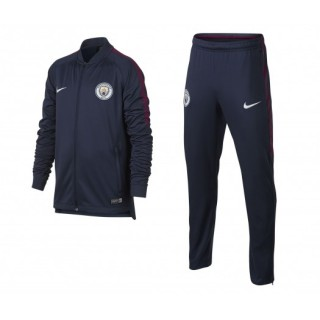 Survêtement Nike Manchester City Squad Bleu Enfant