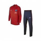 Survêtement Nike Paris Saint-Germain Squad Rouge et Bleu Enfant