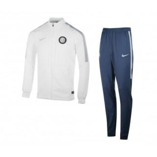 Survêtement Présentation Nike Inter Milan Blanc et Bleu