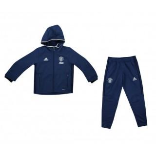 Survêtement adidas Manchester United Bleu Enfant