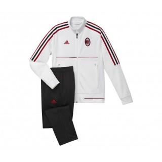 Survêtement adidas Milan AC Blanc et Noir Enfant