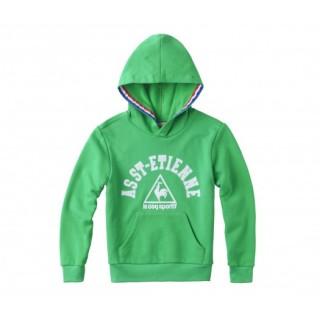 Sweat-Shirt à Capuche ASSE Vert Enfant