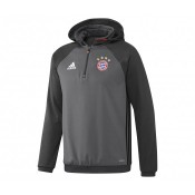 Sweat à capuche adidas Bayern Munich Gris