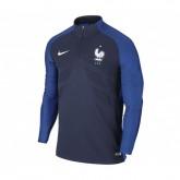 Sweat entraînement FFF Bleu