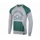 Sweat-shirt AS Saint-Étienne Fan Gris