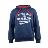 Sweat-shirt Barcelone Bleu