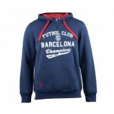 Sweat-shirt Barcelone Bleu