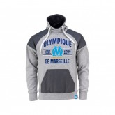 Sweat-shirt Fan Olympique de Marseille Gris Enfant