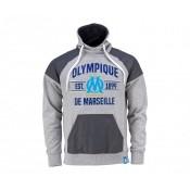 Sweat-shirt Fan Olympique de Marseille Gris Enfant