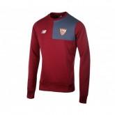 Sweat-shirt New Balance FC Séville Rouge