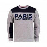 Sweat-shirt Paris Saint-Germain Fan Gris