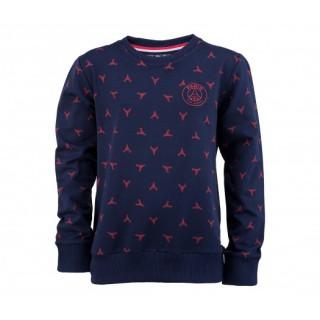 Sweat-shirt Paris Saint-Germain Tour Eiffel Bleu Enfant