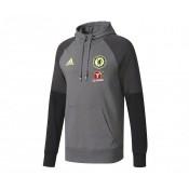 Sweat-shirt à capuche adidas Chelsea Gris